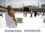 mecca  saudi arabia  13 april... | Shutterstock . vector #694356190