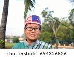 kuala lumpur  malaysia  aug 3 ... | Shutterstock . vector #694356826