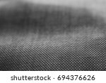 detail of empty fabric textile... | Shutterstock . vector #694376626
