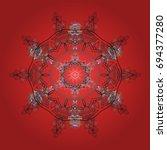 vector illustration. christmas...   Shutterstock .eps vector #694377280