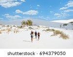 Beautiful Sand Dunes  Mountain...