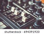 professional midi controller... | Shutterstock . vector #694391920