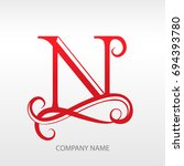 design modern logotype for... | Shutterstock .eps vector #694393780