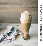 Large Root Beer Float In Tall...