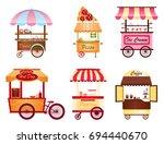 creative vector illustration of ... | Shutterstock .eps vector #694440670