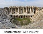 Roman Amphitheater In The Ruin...