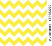 yellow chevron seamless pattern ... | Shutterstock .eps vector #694453030