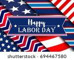 labor day | Shutterstock .eps vector #694467580