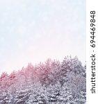 blurred christmas background.... | Shutterstock . vector #694469848