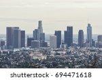 los angeles  ca  usa   january...   Shutterstock . vector #694471618