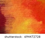 watercolor abstract background  ... | Shutterstock . vector #694472728
