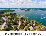 Portsmouth Harbor Aerial View...