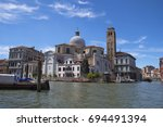 may 2nd 2017 venice  italy  ... | Shutterstock . vector #694491394