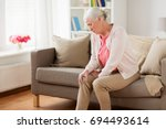 old age  health problem and... | Shutterstock . vector #694493614