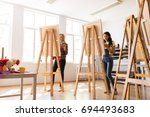 creativity  education and... | Shutterstock . vector #694493683