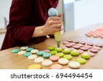 cooking  food and baking... | Shutterstock . vector #694494454
