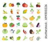 set vector illustration of... | Shutterstock .eps vector #694503226