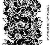abstract elegance seamless... | Shutterstock .eps vector #694508038
