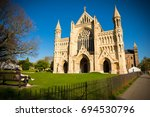 cathedral and abbey church of... | Shutterstock . vector #694530796