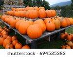 Full Wagon Load Of Pumpkins...