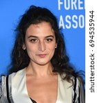 Small photo of LOS ANGELES - AUG 02: Jenny Slate arrives for the HFPA's Grants Banquet on August 2, 2017 in Beverly Hills, CA