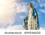 Virgin Mary Statue With Nice...