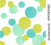 Seamless Polka Dots Pattern In...