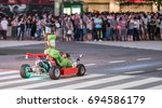 tokyo  japan   august 9th  2017.... | Shutterstock . vector #694586179