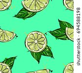 vector abstract illustration... | Shutterstock .eps vector #694588198