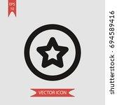 star vector icon  illustration...