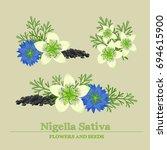 Black Cumin Or Nigella Sativa...