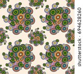 abstract seamless pattern with...