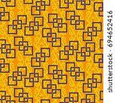 endless abstract pattern.... | Shutterstock .eps vector #694652416