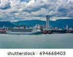 georgetown  malaysia   jan 03 ... | Shutterstock . vector #694668403