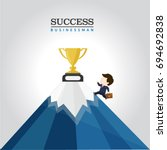 business man   Shutterstock .eps vector #694692838