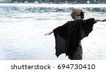 samara  russia   july 24 2017   ... | Shutterstock . vector #694730410