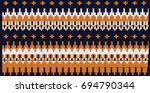 festive and fashionable sweater ... | Shutterstock .eps vector #694790344