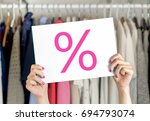 sale  bargain and reduced cheap ... | Shutterstock . vector #694793074