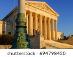 Small photo of The United States Supreme Court in Washington DC, USA