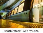 Metro Station In Washington Dc...