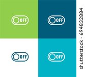 switch off green and blue...