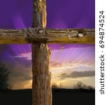 Small photo of Rugged Cross