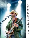Small photo of BENICASSIM, SPAIN - JUL 16: The Coral (pop rock band) perform in concert at FIB Festival on July 16, 2016 in Benicassim, Spain.