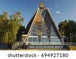 vancouver  british columbia ... | Shutterstock . vector #694927180