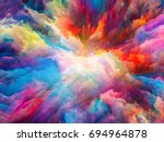 color splash series. abstract... | Shutterstock . vector #694964878