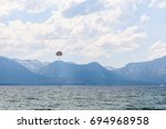Parasailing On The Lake With...
