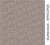 tweed fabric texture. rough...   Shutterstock .eps vector #695012920