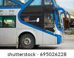 chiang mai  thailand   august... | Shutterstock . vector #695026228