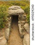 sardinia's origins | Shutterstock . vector #695029240