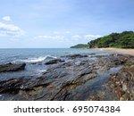 krabi   thailand   march 11...   Shutterstock . vector #695074384